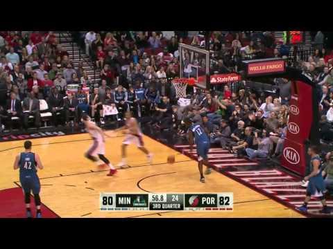 Minnesota Timberwolves vs Portland Trail Blazers | February 23, 2014 | NBA 2013-14 Season