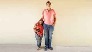 Brezilyanın En Uzun Adamı Kısa Boylu Kadına Aşık Olursa