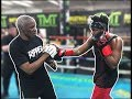 REACTING TO KSI TRAINING WITH FLOYD MAYWEATHER!