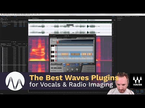 The Best Waves Plugins for Vocals and Radio Imaging