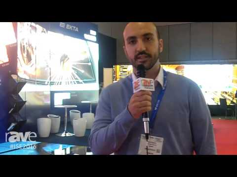 ISE 2016: EKTA Exhibits LED DNA Structure