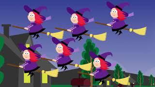 Halloween Songs Halloween Counting music (speedingThe Monster Song -- Children's Ha  #Halloween 113