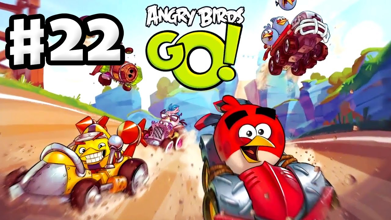 Angry birds go characters hal