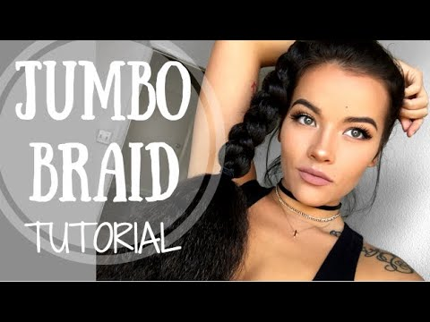 Jumbo Braid Tutorial | TWO Ways! Using Kenekalon Hair