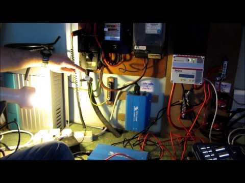 Installing a Morningstar TriStar MPPT 60A off-grid solar charge controller