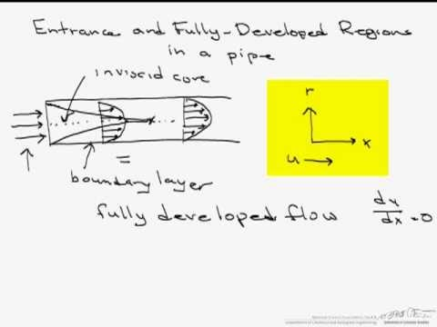 Entrance Region vs. Fully Developed Flow