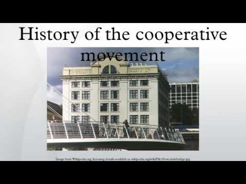 history of cooperative society Cooperative values and principles are intended to support the structure of the cooperative, which in turn supports the structure of society jennifer wilhoit is the founder and director of tealarbor, education and research for crafts communities and the environment.