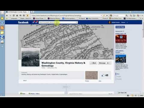 How to Find Genealogy Pages and Groups on Facebook