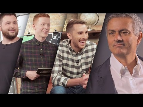 José Mourinho pranks Football Daily | Top Eleven