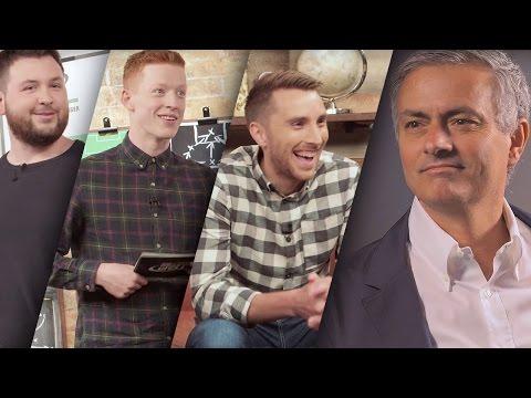 José Mourinho pranks Football Daily | Top Eleven