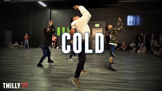 Download Lagu Maroon 5 - Cold ft. Future - Choreography by Cameron Lee - #TMillyTV Gratis STAFABAND
