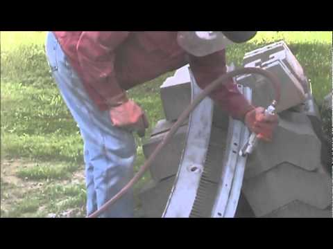 homemade sand blaster works.wmv