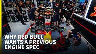 Why Red Bull wants Renault's previous engine spec