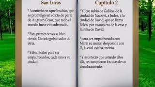 #BIBLIA HABLADA EL EVANGELIO DE SAN LUCAS COMPLETO AUDIO