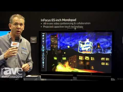 InfoComm 2016: InFocus Shows Mondopad All-In-One Video Video Conferecing & Collaboration Platform