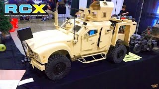RC ADVENTURES - HUGE Military Presence at RCX - PT 2 - Interview with Taigen Tanks