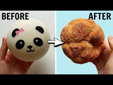 Squishy Makeover - Panda Bun to Pie Chou