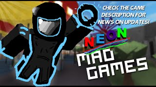 NEON Mad Games! (Fixed, Re Uploaded)