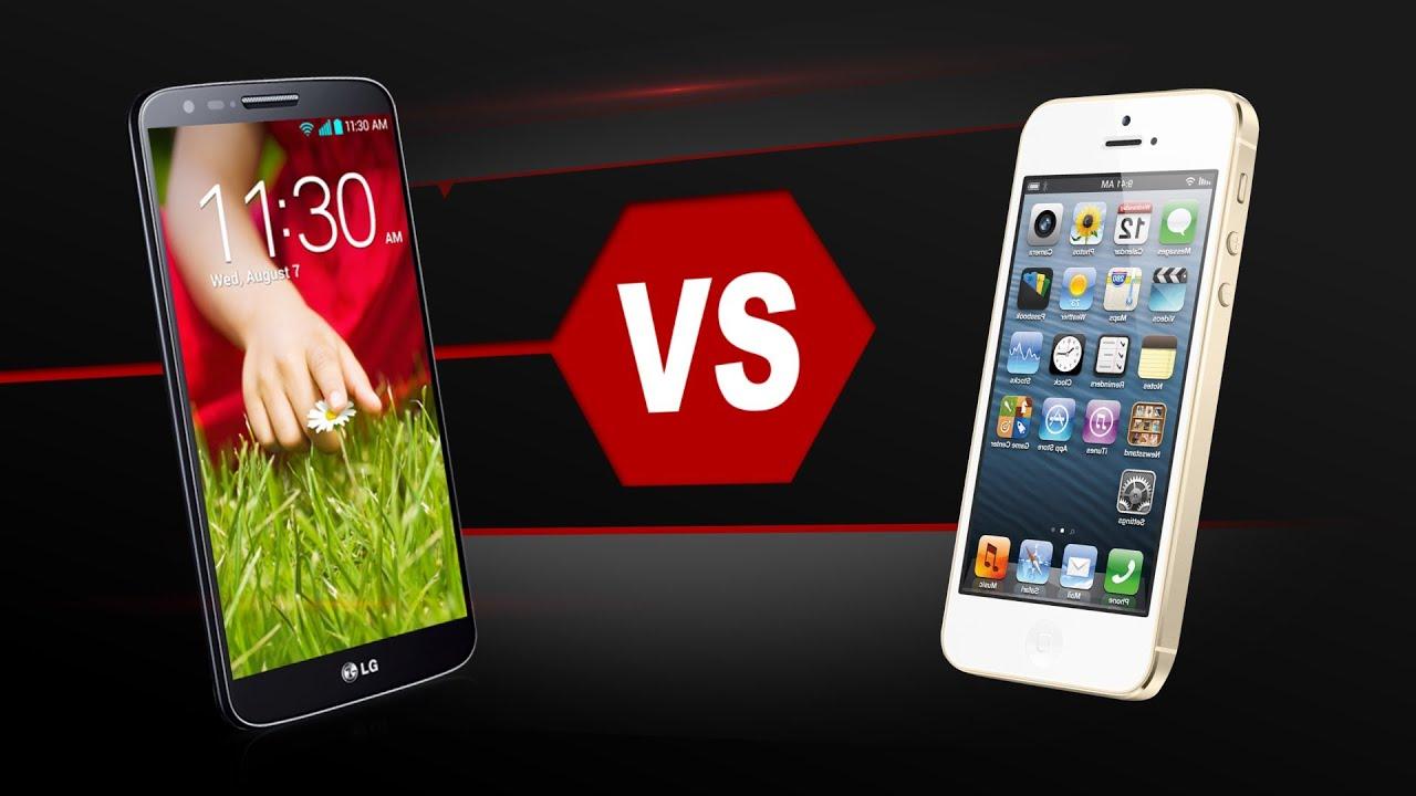 LG G2 Vs. iPhone 5S - YouTube
