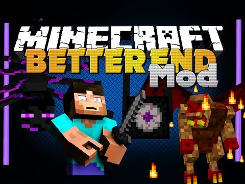 Minecraft Mod Better End Mod New Items Biomes Bosses and Mobs