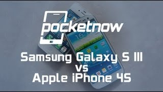 Samsung Galaxy S III vs. iPhone 4S