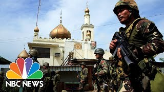 Army Battles To Oust ISIS-Linked Fighters Besieging Philippines City   NBC News