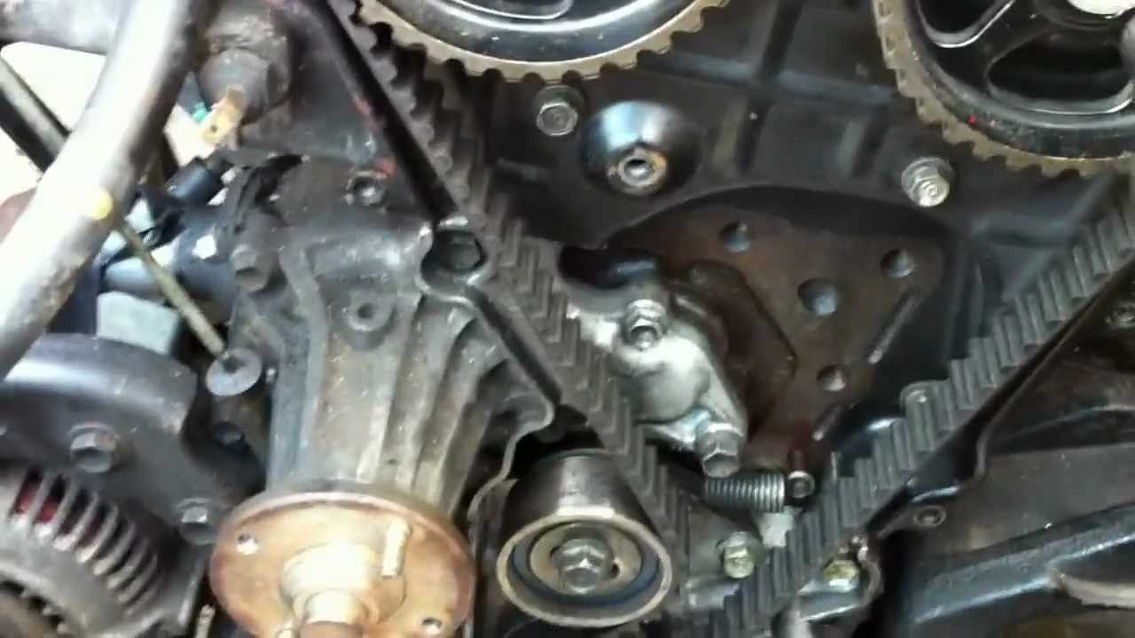verifying a 4age timing belt is installed correctly