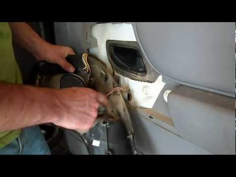 How To: Ford Ranger Front Speakers