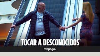 ¿Qué pasa si tocas a un desconocido en las escaleras mecánicas?