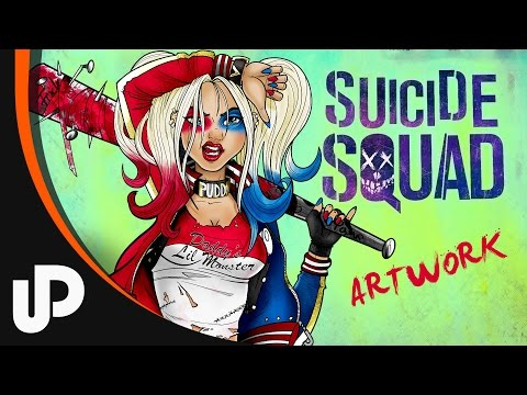 Speed Painting - Harley Quinn from Suicide Squad | Speed Painting, Sketchbook Pro