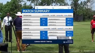 Canada  vs  Argentina U-19 Qualifiers - Americas region