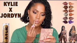 NEW KYLIE X JORDYN COLLABORATION REVIEW | MAKEUPSHAYLA