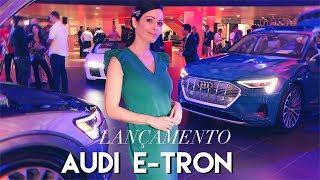 Lançamento SUV elétrico AUDI E-TRON 2019 em Miami, FL
