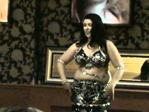 Alyah - Egyptian Belly Dancer - Habibi Ya Aini - At Arabesque video