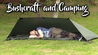 5 Tarp Shelter-setups voor Bushcraft en kamperen in het bos
