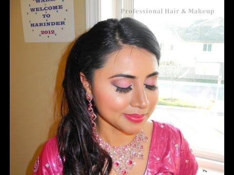 Real Punjabi / Indian Reception Bridal Makeup