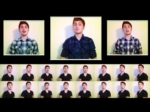 Somebody That I Used To Know -- One Man A Cappella -- Gotye Cover