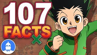 107 Hunter x Hunter Anime Facts YOU Should Know! - Anime Facts (107 Anime Facts S2 E4)
