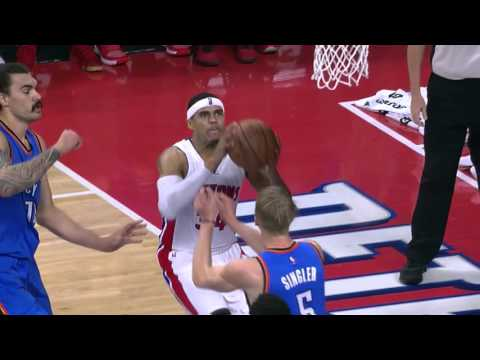 Tobias Harris Full Game Highlight VS Oklahoma City Thunder(17Points,7Rebounds,3Assists)
