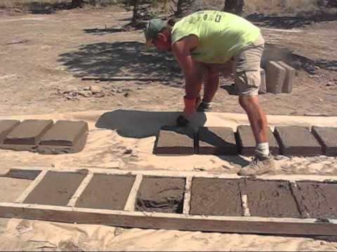 Semi-Mechanized Adobe Brick Making 101