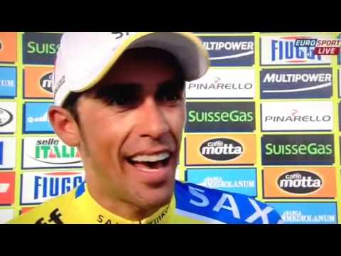 Tirreno Adriatico stage 5 interview