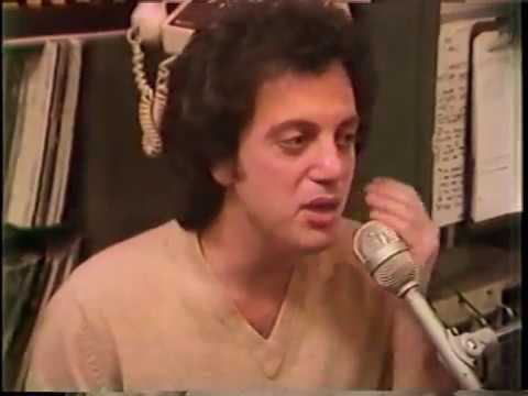Billy Joel visits WIOQ Philadelphia - Evening Magazine - 1978