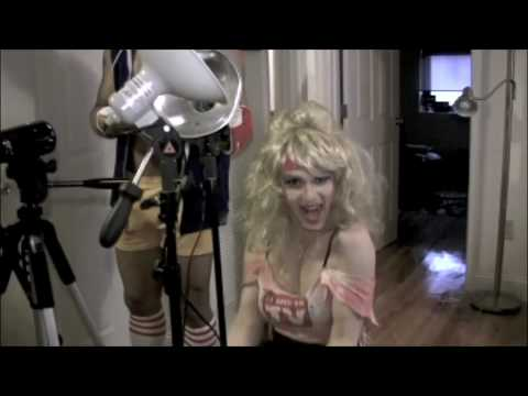 Cross Dressing Workout  Behind The Scene