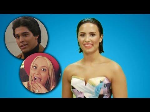 Demi Lovato Impersonates Iggy Azalea & Wilmer Valderrama