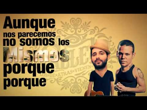 Calle 13 No hay nadie como tu letra