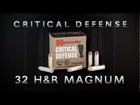 Critical Defense® 32 H&R Magnum from Hornady®