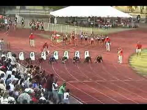 2006 Florida 4A 100 Meter Dash State Meet
