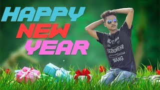 Happy New Year 2018 || New Year Special Photo Edit - Photoshop Tutorial