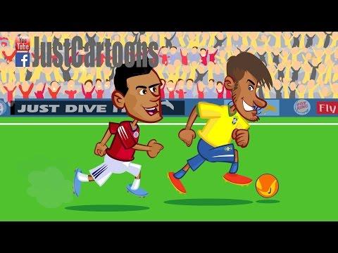 Brazil vs. Colombia - Neymar is back!