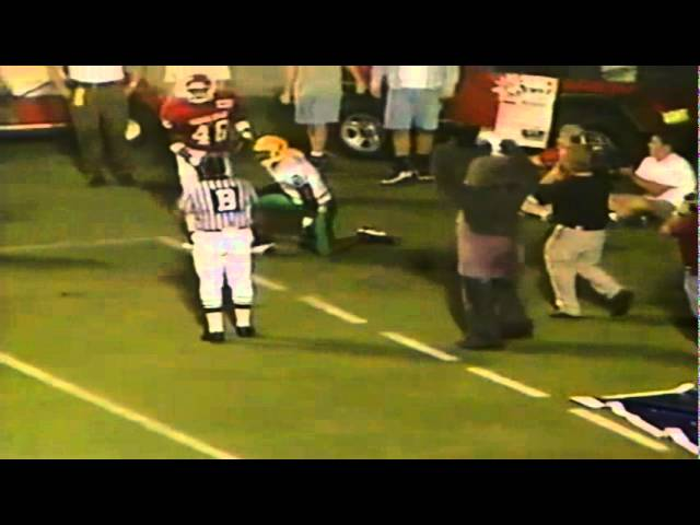 Oregon WR Tony Hartley drops a game-winning touchdown vs. FSU 8-31-96